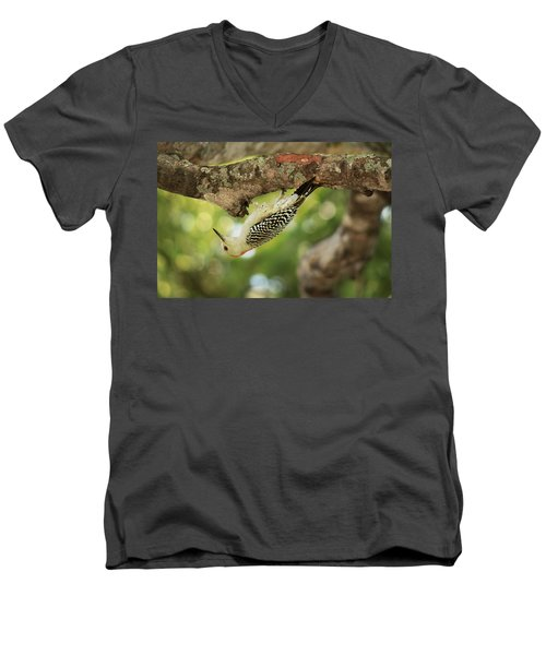 Men's V-Neck T-Shirt featuring the photograph Breakfast Time by Greg Allore