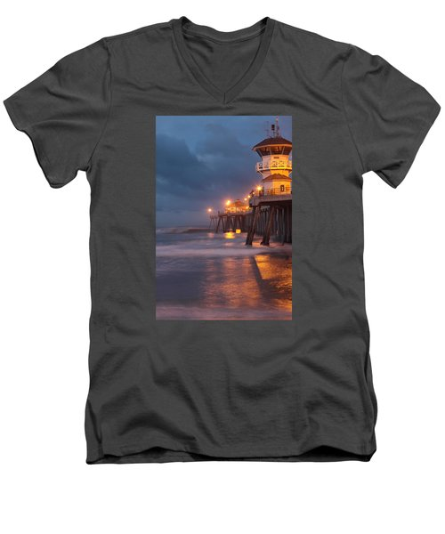 Breaking  Dawn  Men's V-Neck T-Shirt by Duncan Selby