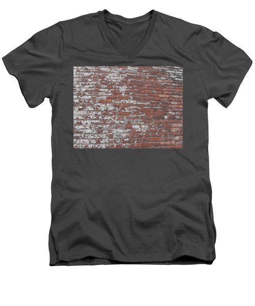 Bricks Men's V-Neck T-Shirt