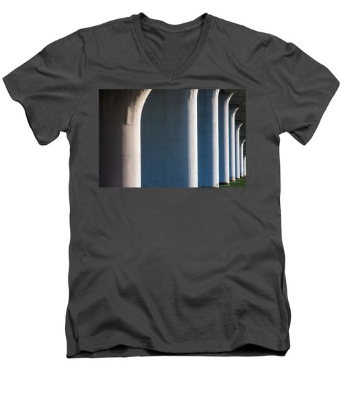 Bridge Patterns 1 Men's V-Neck T-Shirt