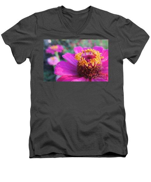 Bridgets Bloom Men's V-Neck T-Shirt