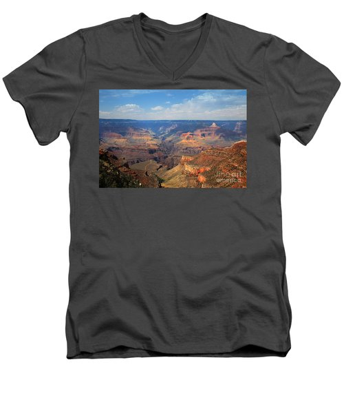 Bright Angel Trail Grand Canyon National Park Men's V-Neck T-Shirt