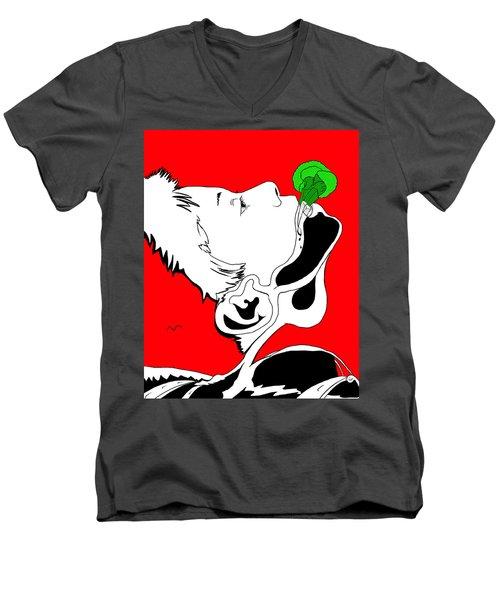 Brocolas Men's V-Neck T-Shirt