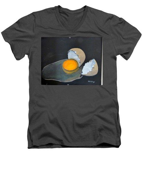 Broken Egg Men's V-Neck T-Shirt