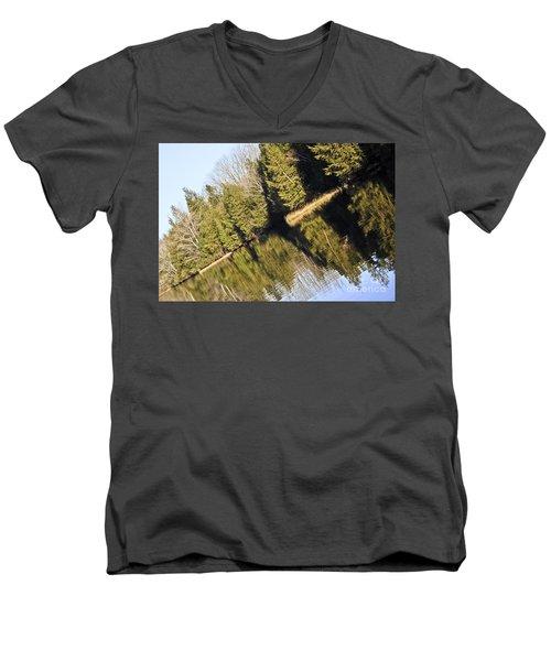 Bronson's Pond Men's V-Neck T-Shirt