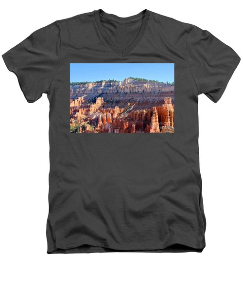 Bryce Amphitheater Men's V-Neck T-Shirt