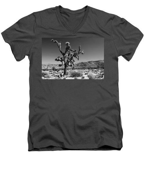 Bullet The Blue Sky - Joshua Tree N.p Men's V-Neck T-Shirt