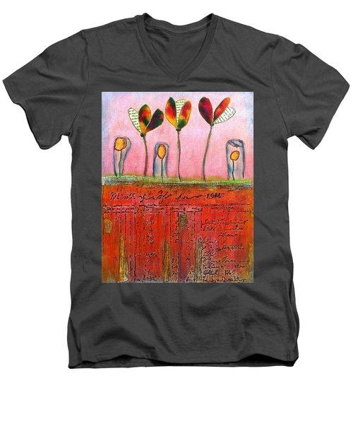 Buried Ledger Men's V-Neck T-Shirt
