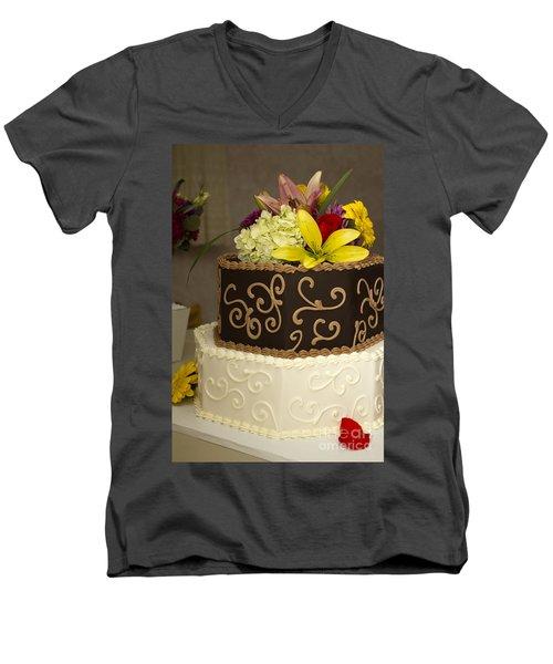 Burns 7386 Men's V-Neck T-Shirt