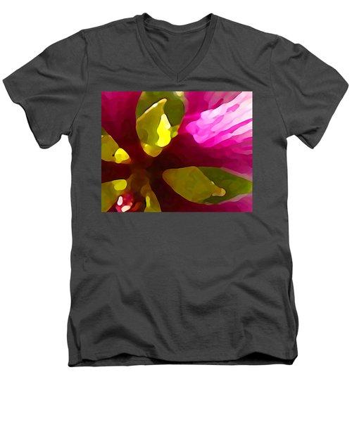 Burst Of Spring Men's V-Neck T-Shirt