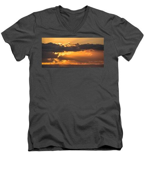 The Trumpet Sound Men's V-Neck T-Shirt