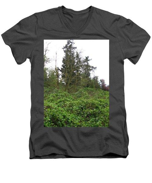 Bus Stop Greenbelt Men's V-Neck T-Shirt