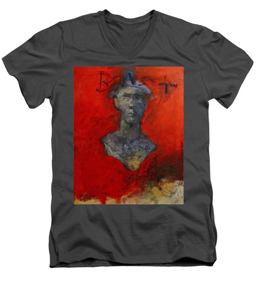 Bust Ted - With Sawdust And Tinsel  Men's V-Neck T-Shirt