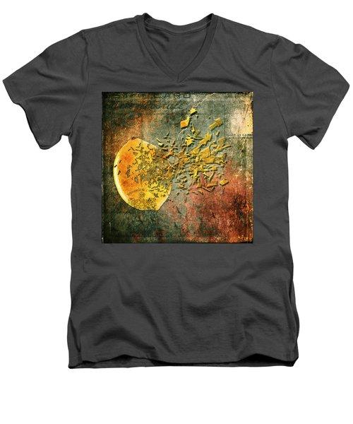 Busted Lemon Men's V-Neck T-Shirt