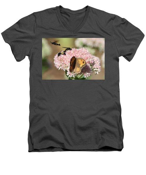 Busy Days Men's V-Neck T-Shirt