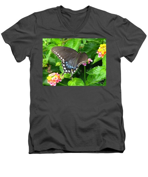Butterfly Ballot Men's V-Neck T-Shirt