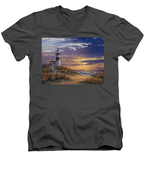 By The Bay Men's V-Neck T-Shirt