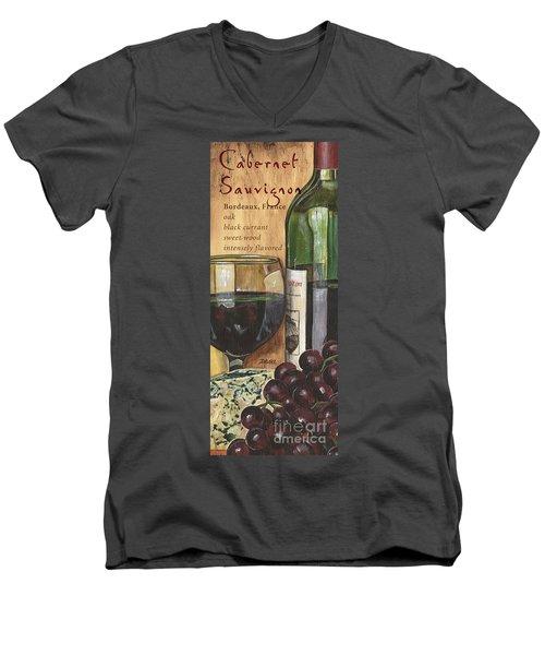 Cabernet Sauvignon Men's V-Neck T-Shirt