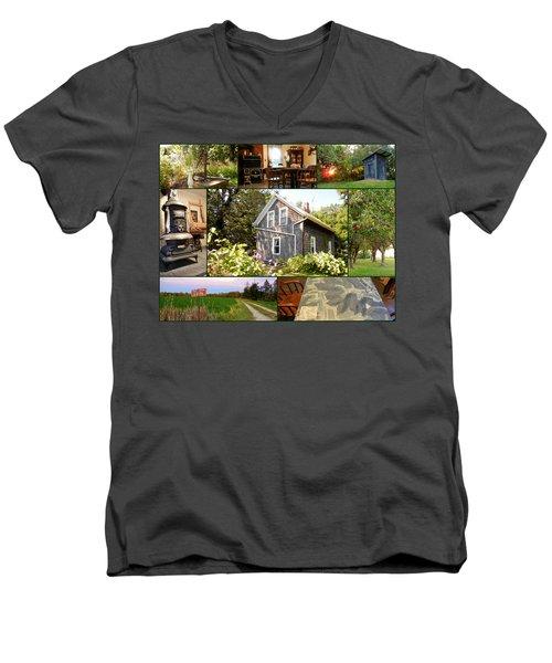 Cabin Men's V-Neck T-Shirt