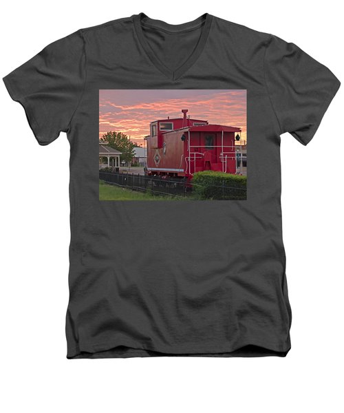 Caboose 1 Men's V-Neck T-Shirt