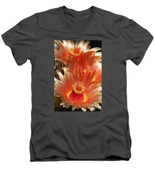 Cactus Blossoms Men's V-Neck T-Shirt