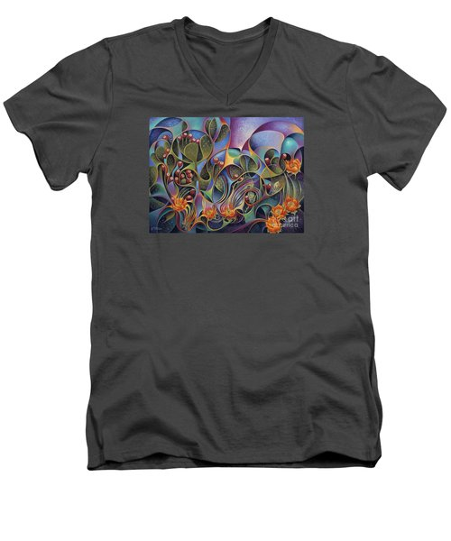 Cactus Dinamicus Men's V-Neck T-Shirt