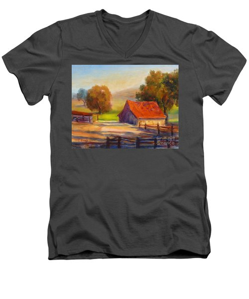 California Barn Men's V-Neck T-Shirt