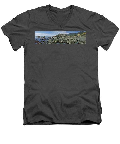 California Beach 2 Men's V-Neck T-Shirt
