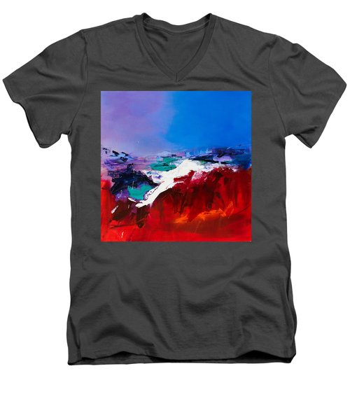 Call Of The Canyon Men's V-Neck T-Shirt