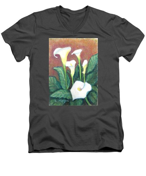 Calla Quintet Men's V-Neck T-Shirt