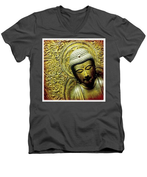 Men's V-Neck T-Shirt featuring the photograph Calm by Bradley R Youngberg