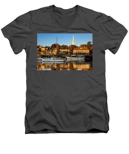 Camden Maine Men's V-Neck T-Shirt