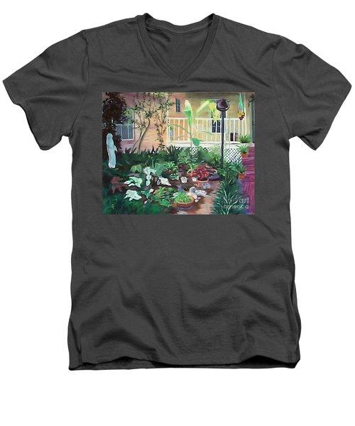 Cameron's Paradise Lost Men's V-Neck T-Shirt