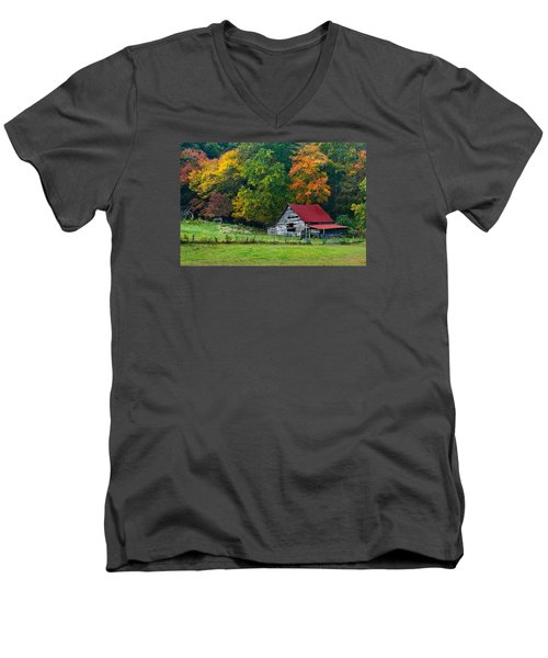 Candy Mountain Men's V-Neck T-Shirt