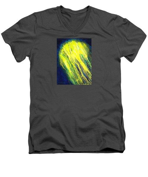 Canopus Men's V-Neck T-Shirt by Lynda Hoffman-Snodgrass