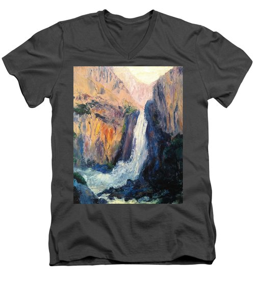 Canyon Blues Men's V-Neck T-Shirt