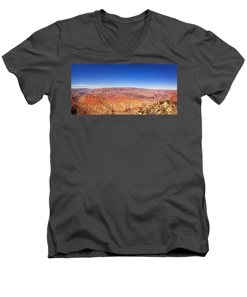 Canyon View Men's V-Neck T-Shirt