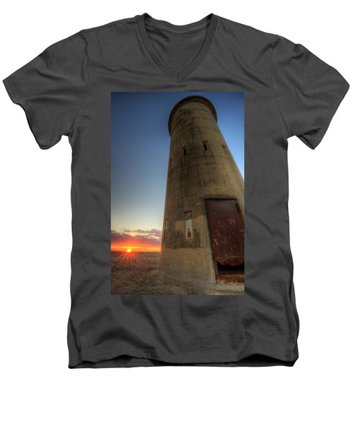 Cape Henlopen Tower Men's V-Neck T-Shirt