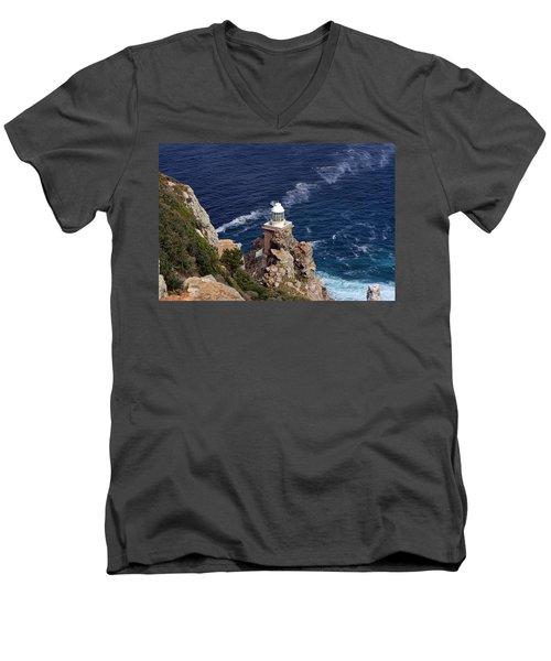 Cape Of Good Hope Lighthouse Men's V-Neck T-Shirt