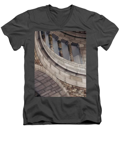 Capitol Curves Men's V-Neck T-Shirt