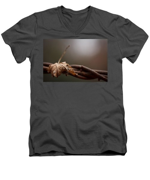 Captured Men's V-Neck T-Shirt by Shane Holsclaw