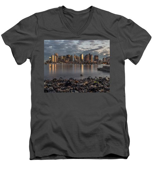 Carleton's Wharf Men's V-Neck T-Shirt