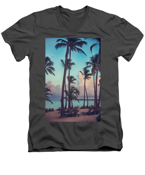 Caribbean Dreams Men's V-Neck T-Shirt