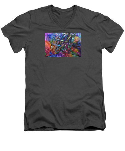 Men's V-Neck T-Shirt featuring the photograph Carnival by Nareeta Martin