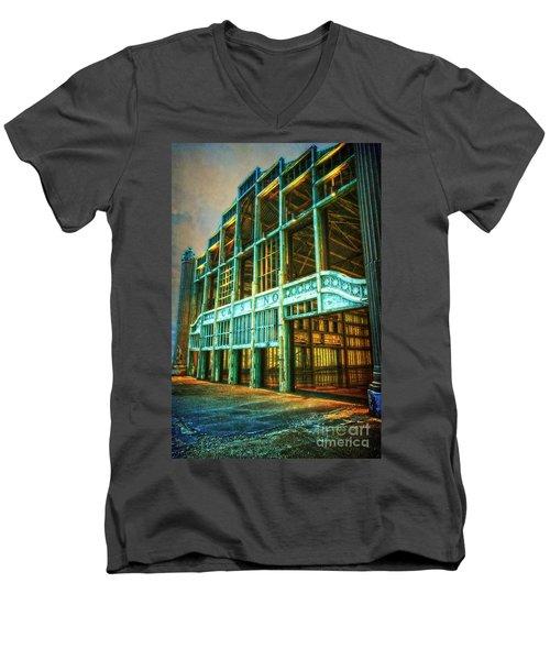 Casino Men's V-Neck T-Shirt