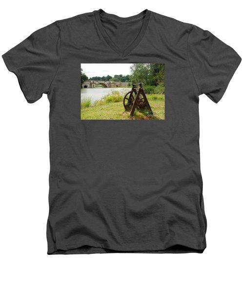 Cast Into The Future Men's V-Neck T-Shirt