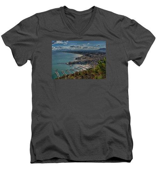 Castellammare Del Golfo Men's V-Neck T-Shirt
