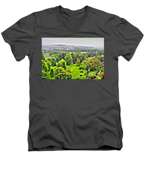 View From The Castle Men's V-Neck T-Shirt