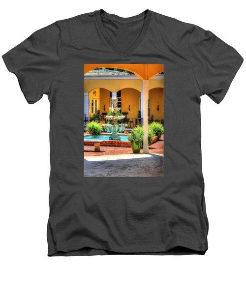 Casual Dinning. Men's V-Neck T-Shirt