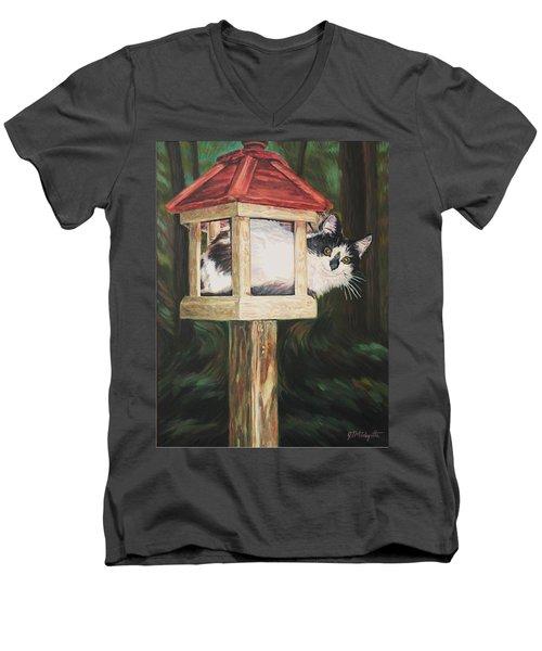 Cat House Men's V-Neck T-Shirt